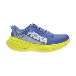 Women's Performance Running Shoes Hoka One One Carbon X  Amparo Blue/Evening Primrose 1102887ABEP