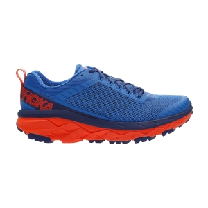 Men's Trail Running Shoes Hoka One One Challenger Atr 5  Imperial Blue/Mandarin Red 1104093IBMR