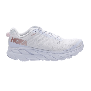 Scarpe Running Neutre Donna Hoka One One Clifton 6  White/Rose Gold 1102873WRGL