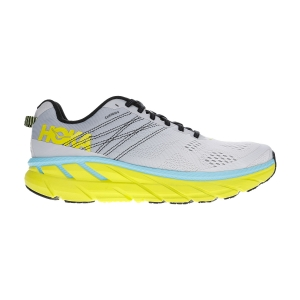 Men's Neutral Running Shoes Hoka One One Clifton 6  Lunar Rock/Nimbus Cloud 1102872LRNC