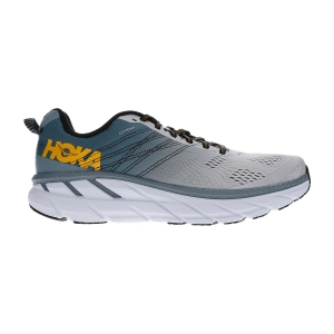 Men's Neutral Running Shoes Hoka One One Clifton 6  Lead/Lunar Rock 1102872LLRC