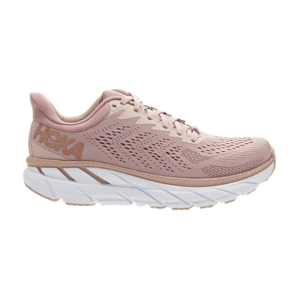 Hoka One One Clifton 7 - Misty Rose/Cameo Brown
