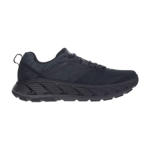 Men's Structured Running Shoes Hoka One One Gaviota 2  Black/Dark Shadow 1099629BDSD