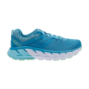Woman's Structured Running Shoes Hoka One One Gaviota 2  Caribbean Sea/Green Ash 1099630CSGA