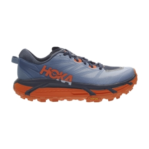 Zapatillas Trail Running Hombre Hoka One One Mafate Speed 3  Provincial Blue/Carrot 1113530PBCT