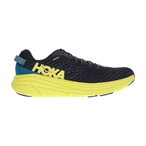 Men's Neutral Running Shoes Hoka One One Rincon  Black/Citrus 1102874BCTRS
