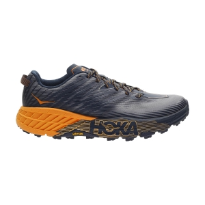 Hoka One One Speedgoat 4 - Black Iris/Bright Marigold