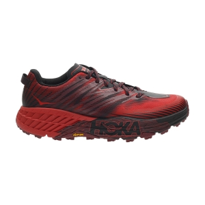 Hoka One One Speedgoat 4 - Cordovan/High Risk Red
