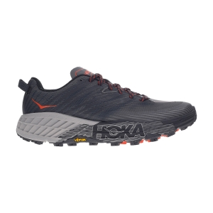 Men's Trail Running Shoes Hoka One One Speedgoat 4  Dark Gull/Grey Antracite 1106525DGGA