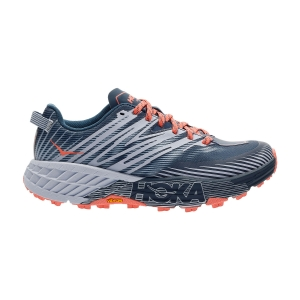 Scarpe Trail Running Donna Hoka One One Speedgoat 4  Majolica Blue/Heather 1106527MBHH