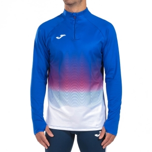 Men's Running Shirt Joma Elite VII Shirt  Royal/White 101541.722
