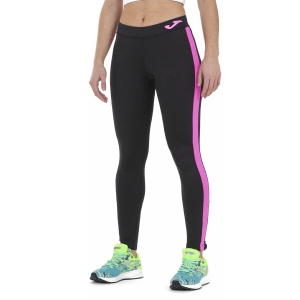 Women's Running Tight Joma Elite VII Tights  Black/Pink 901127.118