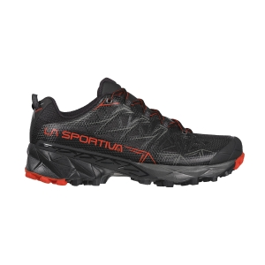Men's Trail Running Shoes La Sportiva Akyra GTX  Black/Poppy 36I999311