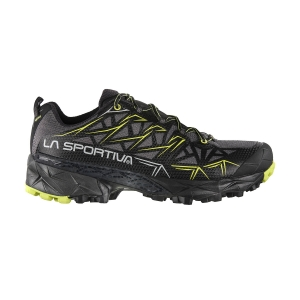 Men's Trail Running Shoes La Sportiva Akyra GTX  Carbon/Apple Green 36I900705