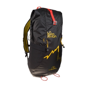 Sport Backpack La Sportiva Alpine Backpack  Black/Yellow 59K999100