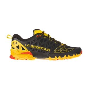 Men's Trail Running Shoes La Sportiva Bushido II  Black/Yellow 36S999100