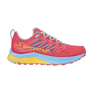Women's Trail Running Shoes La Sportiva Jackal  Hibiscus/Malibu Blue 46C402602