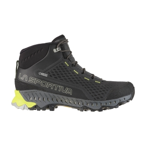 Scarpe Outdoor Uomo La Sportiva Stream GTX  Carbon/Apple Green 24D900705