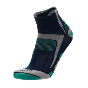 Mico Light X-Static Argento Socks - Blu