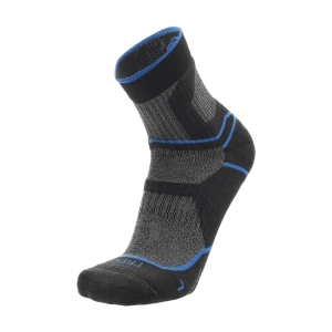 Running Socks Mico Trekking Coolmax Medium Socks  Antracite/Azzurro CA 3058 449