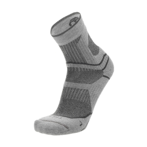 Running Socks Mico Trekking Coolmax Medium Socks  Grigio Melange CA 3058 330