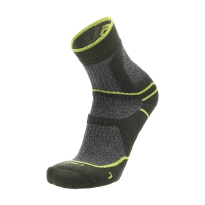 Running Socks Mico Trekking Coolmax Medium Socks  Verde CA 3058 006