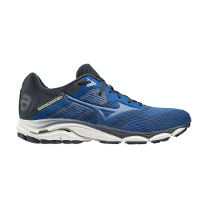 Men's Structured Running Shoes Mizuno Wave Inspire 16  True Blue/True Blue/Navy Blazer J1GC204429
