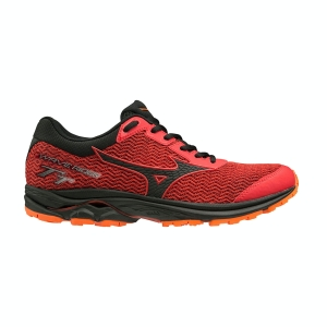 Mizuno Wave Rider TT - High Risk Red/Black/Red Orange