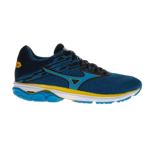 Men's Neutral Running Shoes Mizuno Wave Rider 23  Blue Jewel/Black J1GC190320