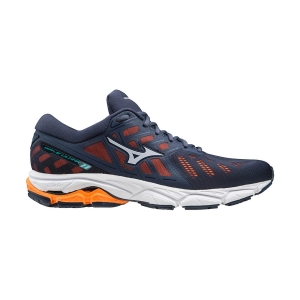 Mizuno Wave Ultima 11 - Mood indigo/Artic Ice/Shocking Orange