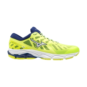 Mizuno Wave Ultima 11 - Safety Yellow/White/Blue Depth