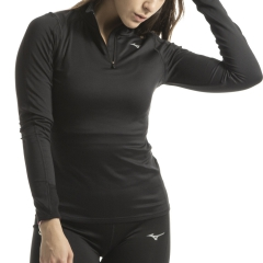 Mizuno Vortex Warmalite Shirt - Black