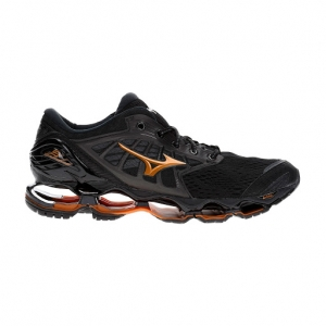 Men's Neutral Running Shoes Mizuno Wave Prophecy 9  Black/Dark Shadow J1GC200051