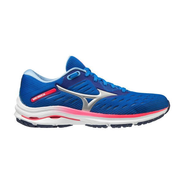 Mizuno Wave Rider 24 - Princess Blue/Artic Ice/Diva Pink