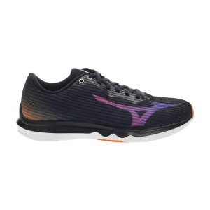 Women's Performance Running Shoes Mizuno Wave Shadow 4 Osaka  Black/Directoire Blue/Safety Yellow J1GC209228