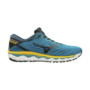 Men's Neutral Running Shoes Mizuno Wave Sky 3  Blue Jewel/Black J1GC190210