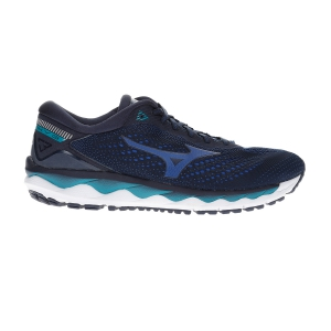 Men's Neutral Running Shoes Mizuno Wave Sky 3  Navy Blazer/True Blue/Lapis J1GC190229
