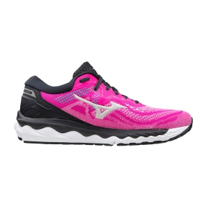 Mizuno Wave Sky 4 - Pink Glo/Nimbus Cloud/Atlantis