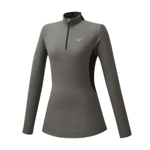 Mizuno Merino Wool Shirt - Grey/Black