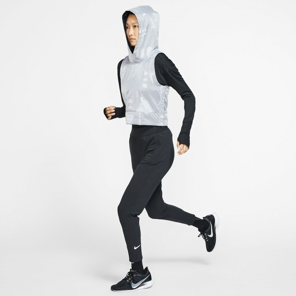 Nike Essential Warm Pants - Black/Reflective Silver