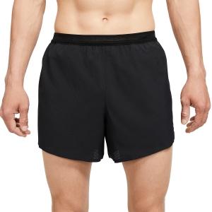 Nike Aeroswift 4in Shorts - Black/White