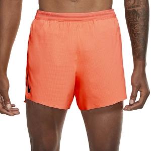 Nike Aeroswift 4in Pantaloncini - Bright Mango/Black