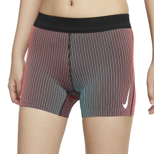 Pantaloncini Running Donna Nike Aeroswift Logo 4in Pantaloncini  Bright Crimson/Black/White CJ2367635
