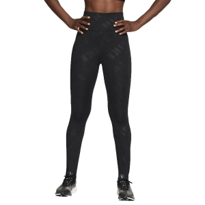 Tight Running Donna Nike Air 7/8 Tights  Black/Reflective Silver CJ2149010