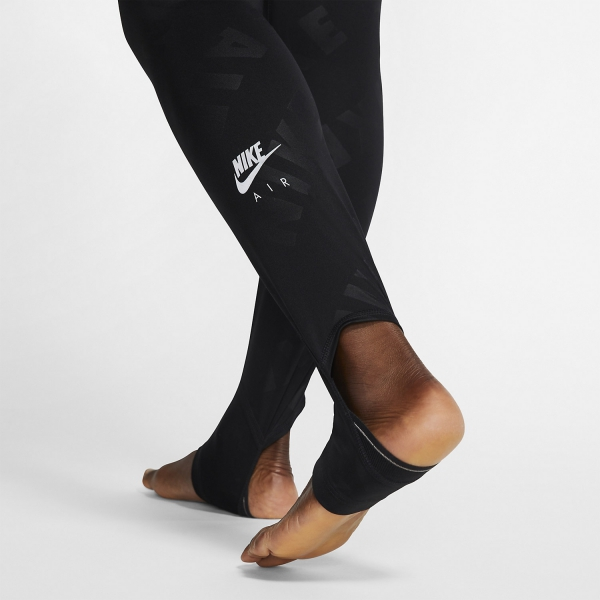 Nike Air 7/8 Tights - Black/Reflective Silver
