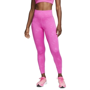 Tight Running Donna Nike Air 7/8 Tights  Fire Pink/Reflective Silver CJ2149601