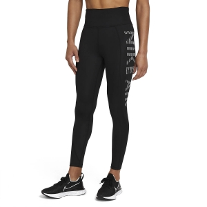 Tight Running Donna Nike Air Epic Fast 7/8 Tights  Black/Reflective Silver CZ9229011