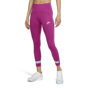 Women's Running Tight Nike Air Logo 7/8 Tights  Cactus Flower/Beyond Pink CU3351564