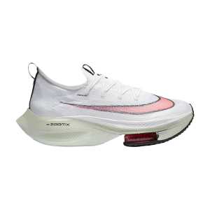 Men's Performance Running Shoes Nike Air Zoom Alphafly Next%  White/Flash Crimson/Jade Aura CI9925100