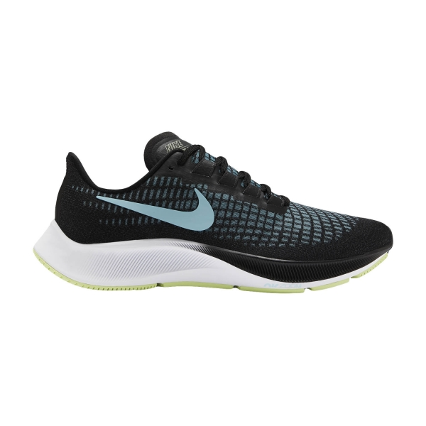 Nike Air Zoom Pegasus 37 - Black/Glacier Ice/Barely Volt/White